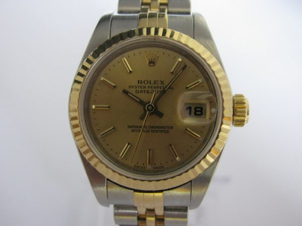 Ladies Rolex Datejust 79173 18K Gold/Steel