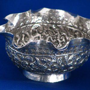Silver Bon Bon Dish. 19th Century Continental Silver