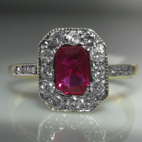 Ruby and Diamond Ring, Ruby Ring, Jewellers, Jewellery Shop, Galway, Fine Jewellery, Diamond Jewellery