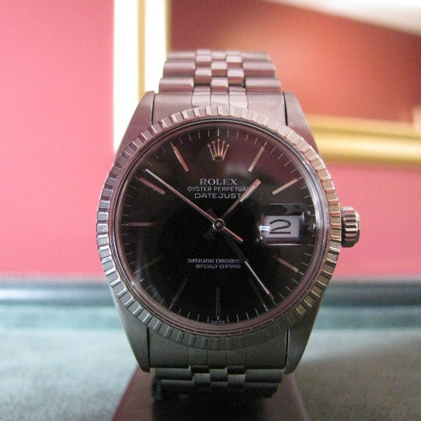 Oyster DateJust 16014 Stainless Steel Rolex, Luxury watch, watch, Galway, Ireland, The Antiques Room