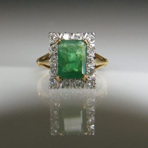 Emerald Ring, Fine Jewellery, Jewellery Shop, Jewellers, Galway