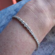 2.5ct Diamond Bracelet in 18k Gold