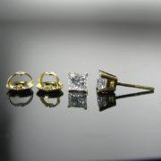 Diamond Earrings, Diamonds, Fine Jewellery, Jewellery Shop, Jewellers, Galway