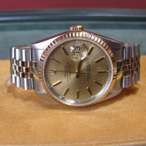 Gents - Rolex DateJust - 18k Gold and Stainless Steel - 16223