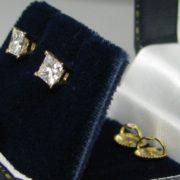 Diamond Stud Earrings, Fine Jewellery, Jewellery Shop, Jewellers, Galway