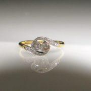 Old Cut Diamond, diamond ring, jewellers, antique ring, jewellery shop, Galway