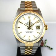 DateJust White Dial 16223, Luxury Watch, Rolex, Watch, Galway, Ireland, Pre-Owned Rolex
