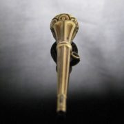Victorian Gold Watch Winding Key Fob, Antique, Galway, West of Ireland
