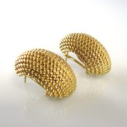 Gold earrings, Earrings, Fine Jewellery, Jewellery Shop, Jewellers, Galway