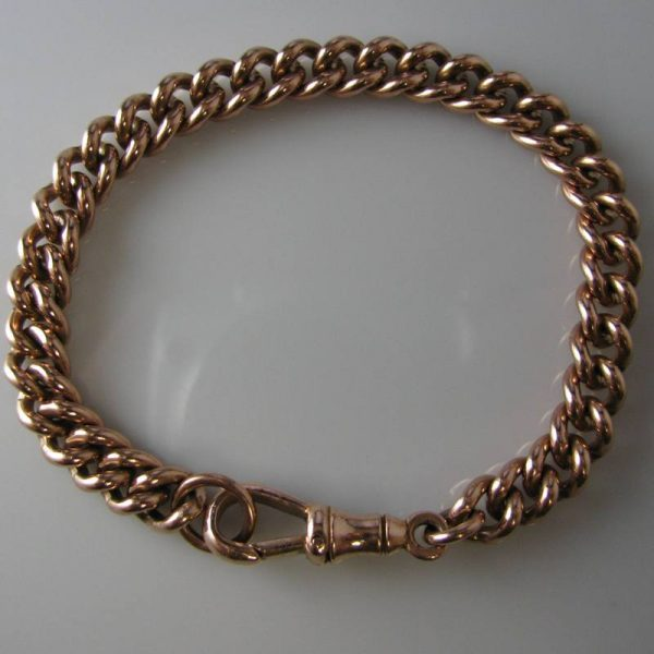 Rose Gold Bracelet, Gold bracelet, Jewellery, Galway, Ireland, The Antiques Room