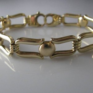 Gold bracelet, Jewellery, Galway, Ireland, The Antiques Room