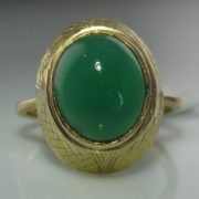 Jade Ring in 18k Gold