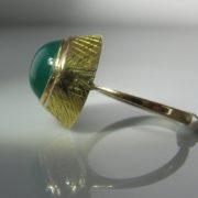 Jade Ring in 18k Gold
