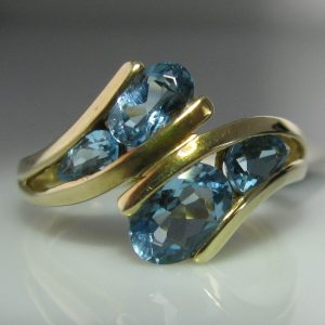 Topaz Ring in 9k Gold
