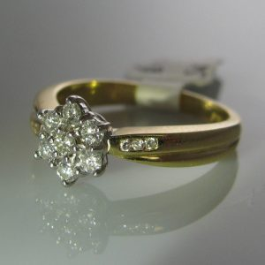 Diamond Ring, diamond engagement ring, diamond ring, jewellers, antique ring, jewellery shop, Galway