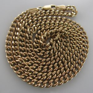 9k Gold Chain, Gold Chain, Necklace, Fine Jewellery, Jewellery Shop, Jewellers, Galway, West of Ireland