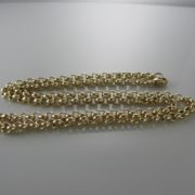 Belcher Round Link Chain, Gold Chain, Necklace, Fine Jewellery, Jewellery Shop, Jewellers, Galway, West of Ireland