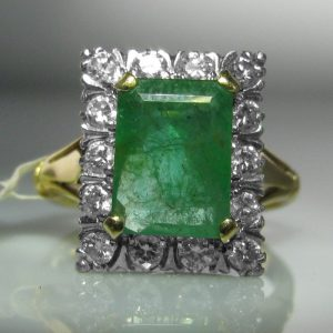 Emerald Ring, Fine Jewellery, Jewellery Shop, Jewellers, Galway