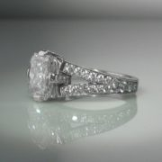 3 carat Diamond Ring, Diamond Ring, Jewellery, Galway, Ireland, The Antiques Room