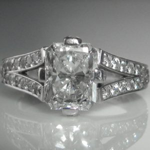 1493-51 2.04 ct Radiant Cut Diamond