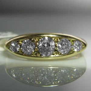 5 stone Diamond Ring, Gold and Diamond Ring, Diamond Ring, Jewellers, Jewellery Shop, Galway, Fine Jewellery, Diamond Jewellery