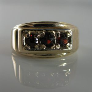 Garnet Ring, Gold Ring, Fine Jewellery, Jewellery Shop, Jewellers, Galway
