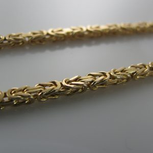 Byzantine chain, Gold necklace, Necklace, Fine Jewellery, Jewellery Shop, Jewellers, Galway, West of Ireland