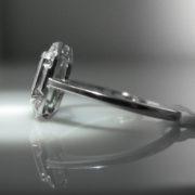 Aquamarine & Diamond Ring, Jewellery, Galway, Ireland, The Antiques Room