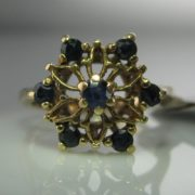 Sapphire Cocktail Ring, Sapphire Ring, Fine Jewellery, Jewellery Shop, Jewellers, Galway