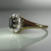 Sapphire and Diamond ring, Sapphire Ring, Fine Jewellery, Jewellery Shop, Jewellers, Galway
