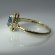 Sapphire and Diamond Gold Ring, Sapphire Ring, Fine Jewellery, Jewellery Shop, Jewellers, Galway