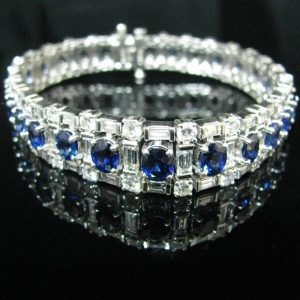 Sapphire & Diamond Bracelet, Bracelet, Bracelets, Galway, Jewellery Shop, Jewellers, Ireland, Diamonds, Sapphires