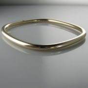 Gold Bangle, Gold Bracelet, The Antiques Room
