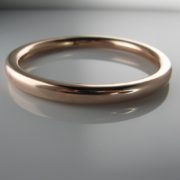 9k Rose Gold Bangle, Gold Bangle, Gold Bracelet, The Antiques Room