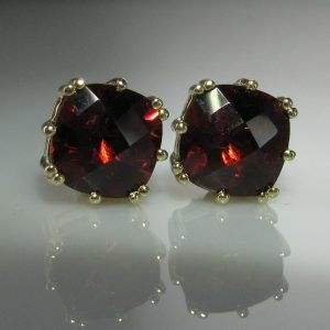 Garnet Earrings, Fine Jewellery, Jewellery Shop, Jewellers, Galway