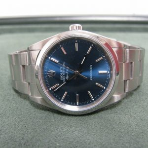 Rolex Oyster Perpetual Air-king, Blue Azzurro Dial, The Antiques Room