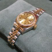 Ladies Rolex Datejust - 18k Gold & Steel