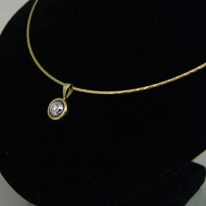 Diamond Pendant in 18k Gold