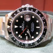 Gents Rolex GMT Master II – 16710T – Rare Model