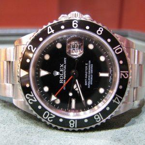 Gents Rolex GMT Master II – 16710T – Rare Model