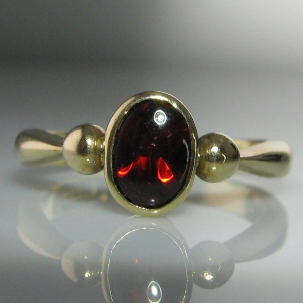 Garnet Ring, The Antiques Room
