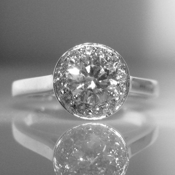 Certified Diamond Ring