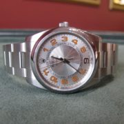 Rolex Oyster Perpetual Air-king Precision - 114200 - Silver Dial - Box and Papers