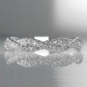 Diamond Plait Ring