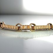 Victorian Style Rose Gold Bracelet