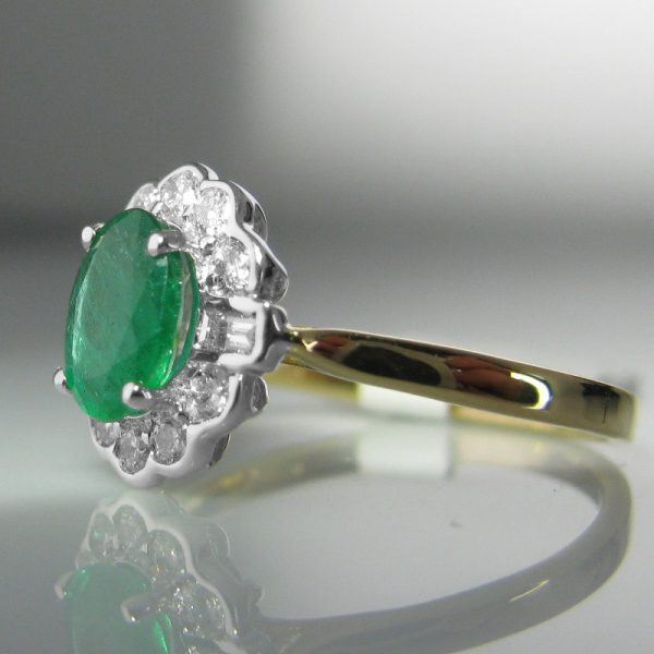 emerald and ring the antiques room