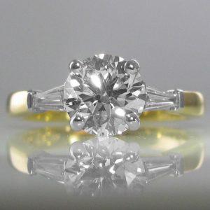 1.69ct Diamond Ring - G Colour - GIA Cert