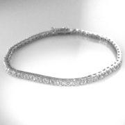 Diamond Tennis Bracelet - 4.02 cts