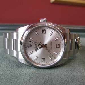 Gents Rolex Air King - 114200 - Silver Dial - 'Domino's Pizza'
