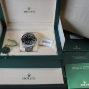Gents Rolex Submariner Stainless Steel -114060 - 2017 - Full Set